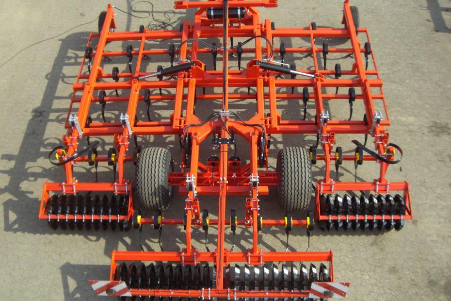STOPPEL-SPEZI 5 F - Großfederzinkenreihe 5-balkig, Zustreicher, Zahnringwalze, Tasträder