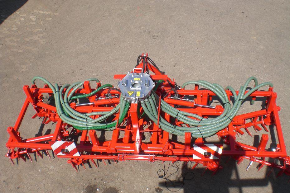 Spatenrollegge GBS 4 H Gülle, Gülleverteiler und -einarbeitung