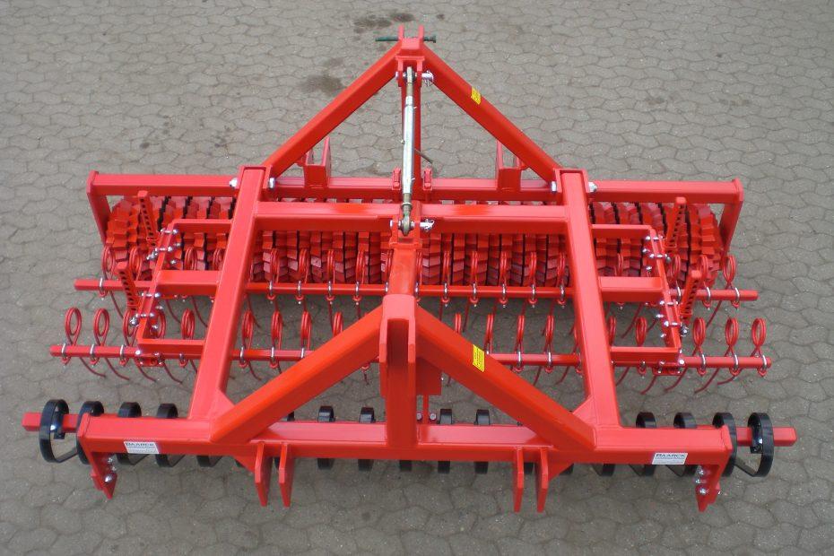 GRÜNLANDPROFI 3 W - Crossboard, Striegeleinheit doppelt, Zahnringwalze 50/45