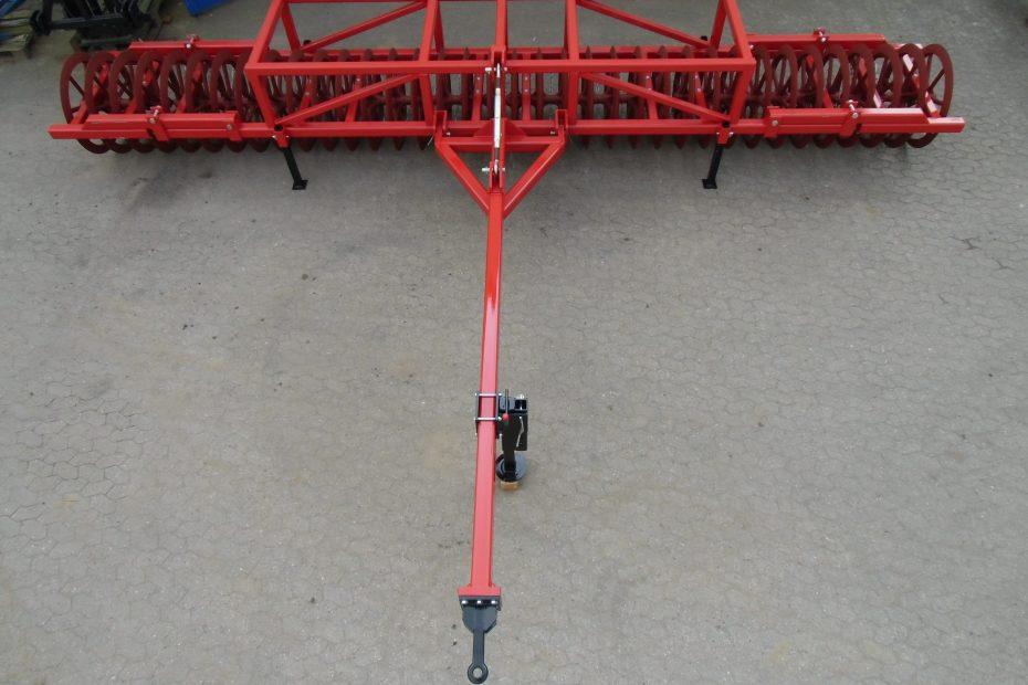 PFLUGLOTSE 8 H - Fahrwerk und hydraulische Klappung