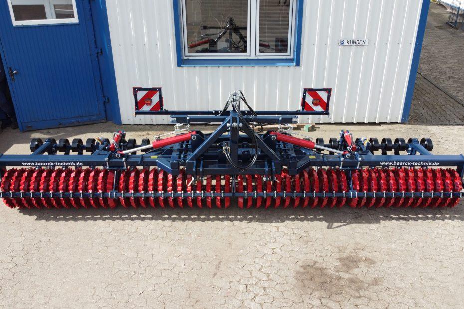 Frontpacker 6m, Duo Zahnringwalze, Crossboard hydraulisch