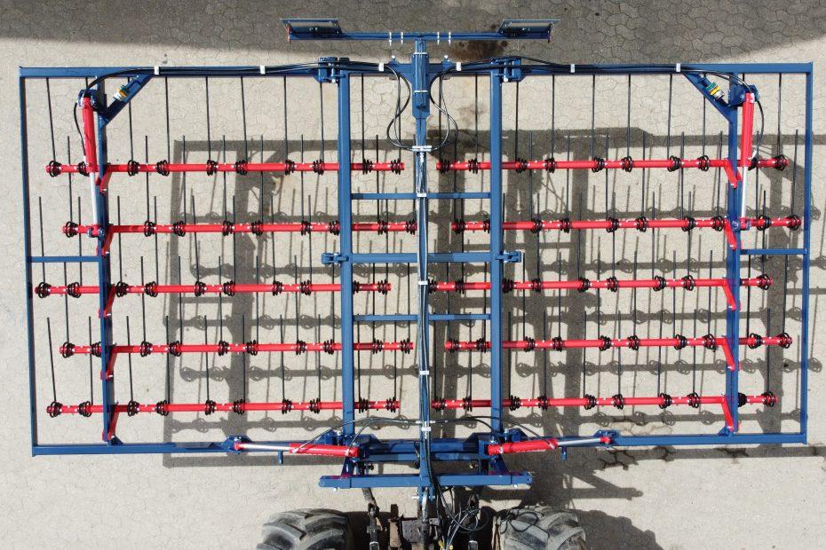 STROHMEISTER 6 H, Zinken hydr. verstellbar, 6m AB