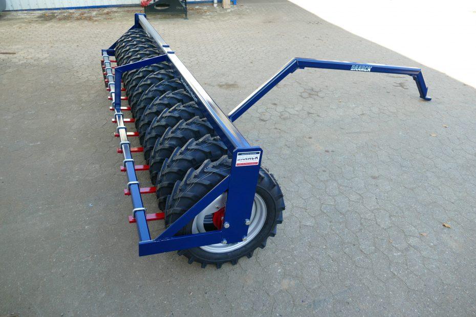Reifenpacker, 3,5m als Nachläufer für Pflugpacker